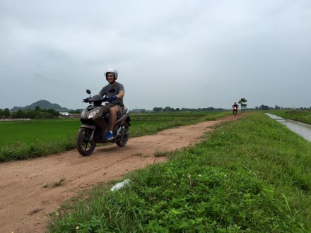 Countryside Hanoi motorbike tours, Hanoi motorcycle trips