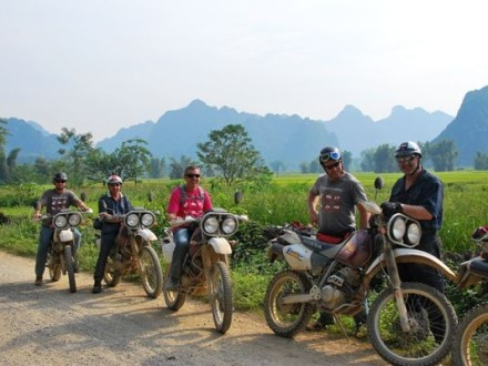 Vietnam offroad motorbike tour to Ha Giang