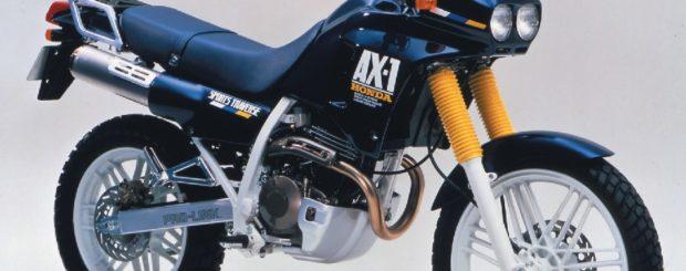 ax 1 1987 620x245 - Honda AX1 & Kaw Anhelo 250cc